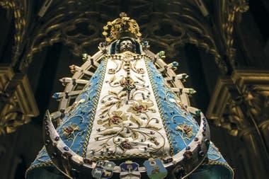 Imagen original de la Virgen de Luján