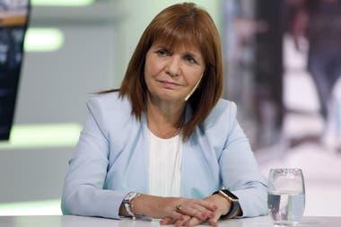 La presidenta de Pro, Patricia Bullrich, es una de las dirigentes que cuestiona con más dureza a Alberto Fernández