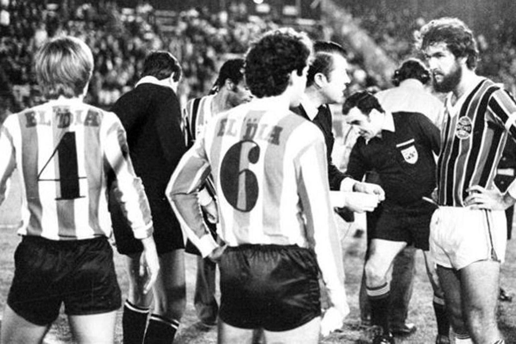 A 37 años de la hazaña inigualable de Estudiantes en la Copa Libertadores: el día que le empató a Gremio con cuatro jugadores menos
