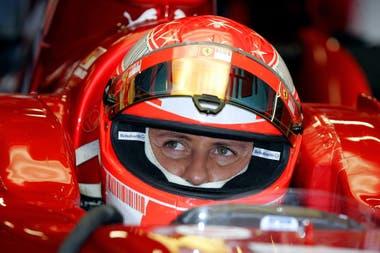 Michael Schumacher, el primero en superar los cinco títulos de Juan Manuel Fangio