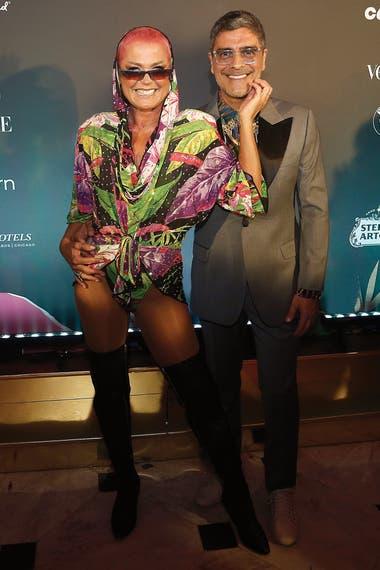 Las imágenes fueron tomadas en su última aparición pública antes del confinamiento, durante una fiesta de Carnaval, el 7 de febrero de 2020. Asistió junto con su novio, el compositor Junno Andrade