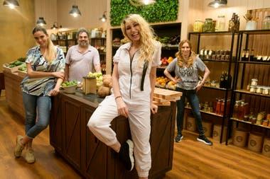 Los participantes de MasterChef Celebrity anoche tuvieron un día intenso en la cocina