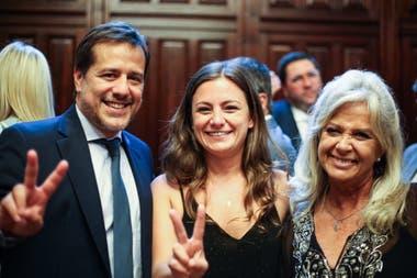 Vanesa Siley, junto con Mariano Recalde