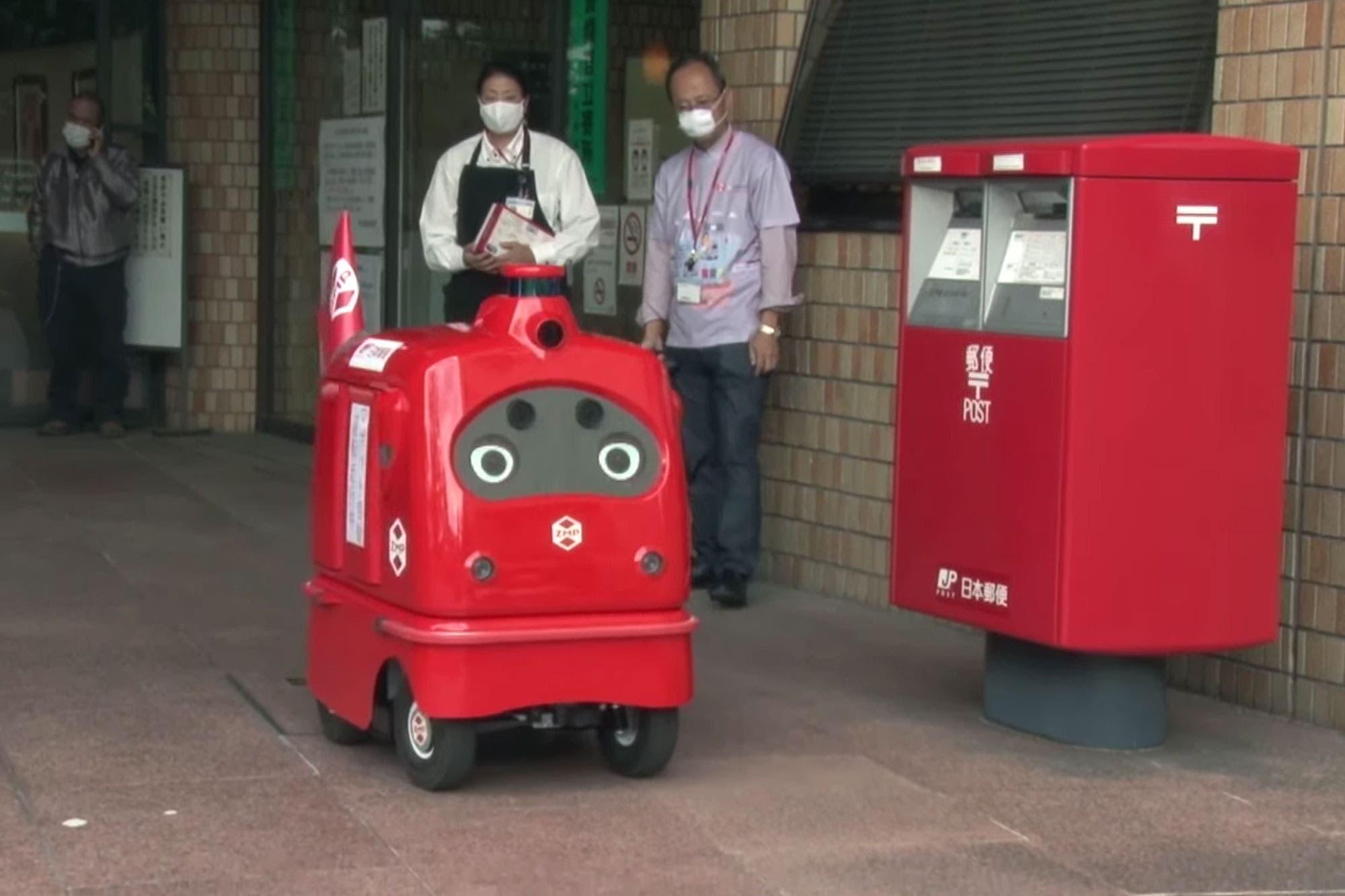 Cartero robot: Japan Post presentó su vehículo autónomo para el reparto de correspondencia y paquetes
