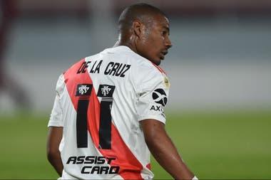 """De La Cruz fue definido por Gallardo como un jugador que """"hace de todo y lo hace bien"""""""