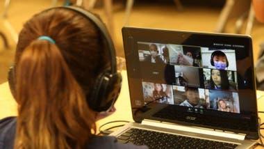 A diferencia de otros colegios, en la UNFV los alumnos no están obligados a tener una cámara activa en clase.