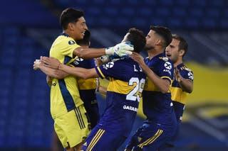 Boca venció por penales a Inter y jugará con Racing por los cuartos de  final de la Copa Libertadores - LA NACION