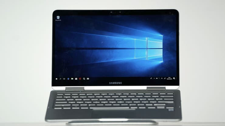 Una notebook Samsung 9 Pen