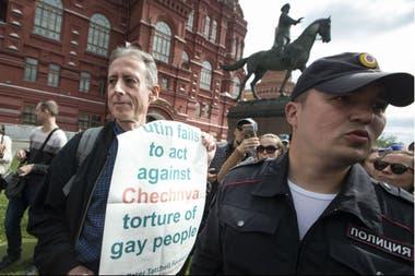 El reclamo fue por las torturas a los gays en Chechenia