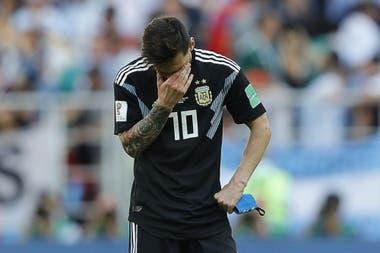 """""""El penal fue doloroso. Me siento responsable"""", dijo Messi"""
