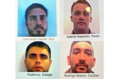 Difundieron las identidades de los cuatro argentinos que golpearon salvajemente a dos hinchas croatas