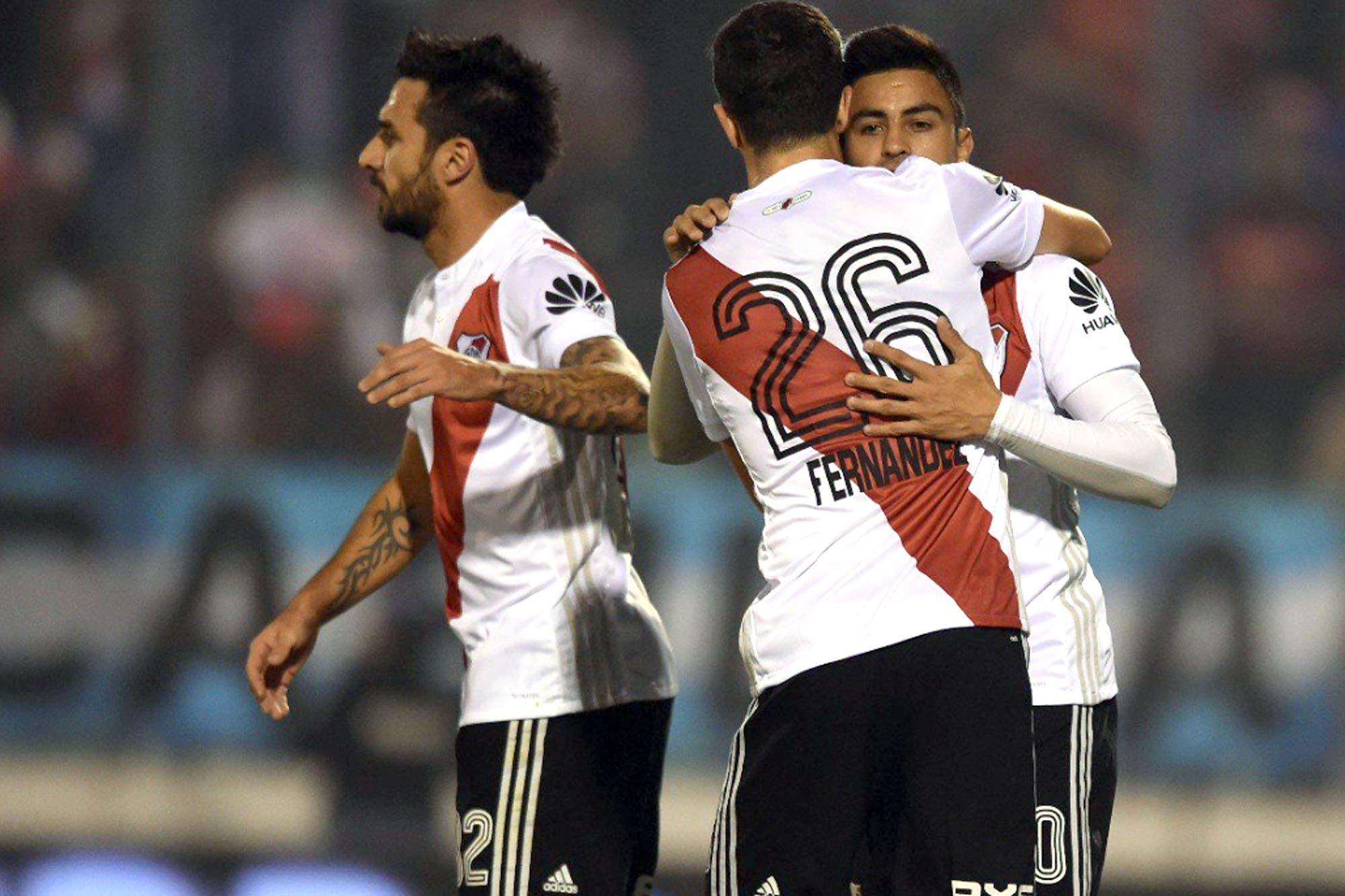 River-Villa Dálmine, Copa Argentina: la atajada de Armani de arranque y los goles del 3-0