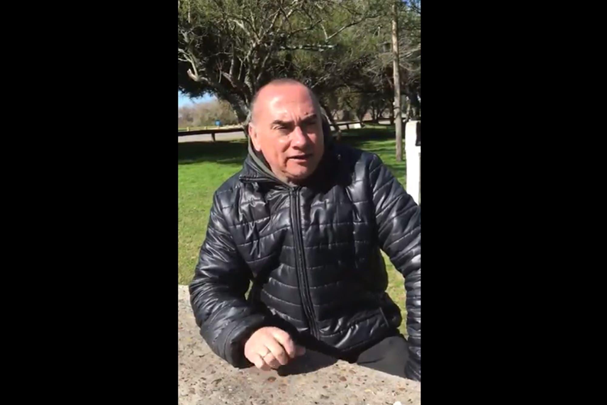 Caso Nahir: polémica por un video en el que el padre de Fernando Pastorizzo se postula para el Bailando de Italia