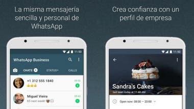 A través de la aplicación las compañías pueden crear perfiles de empresa y enviar mensajes a sus clientes