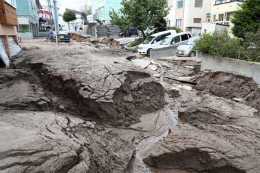 Japón está en la convergencia de cuatro placas tectónicas, por lo que es una zona de mucho movimiento sísmico; esta imagen fue tomada en Sapporo