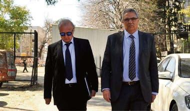Hugo Dragonetti, presidente de la constructora Panedile, reconoció que le hizo pagos a Ernesto Clarens (izquierda), aunque sostuvo que el porcentaje de retorno estaba por debajo de entre 15 y 20% que el financista había referido