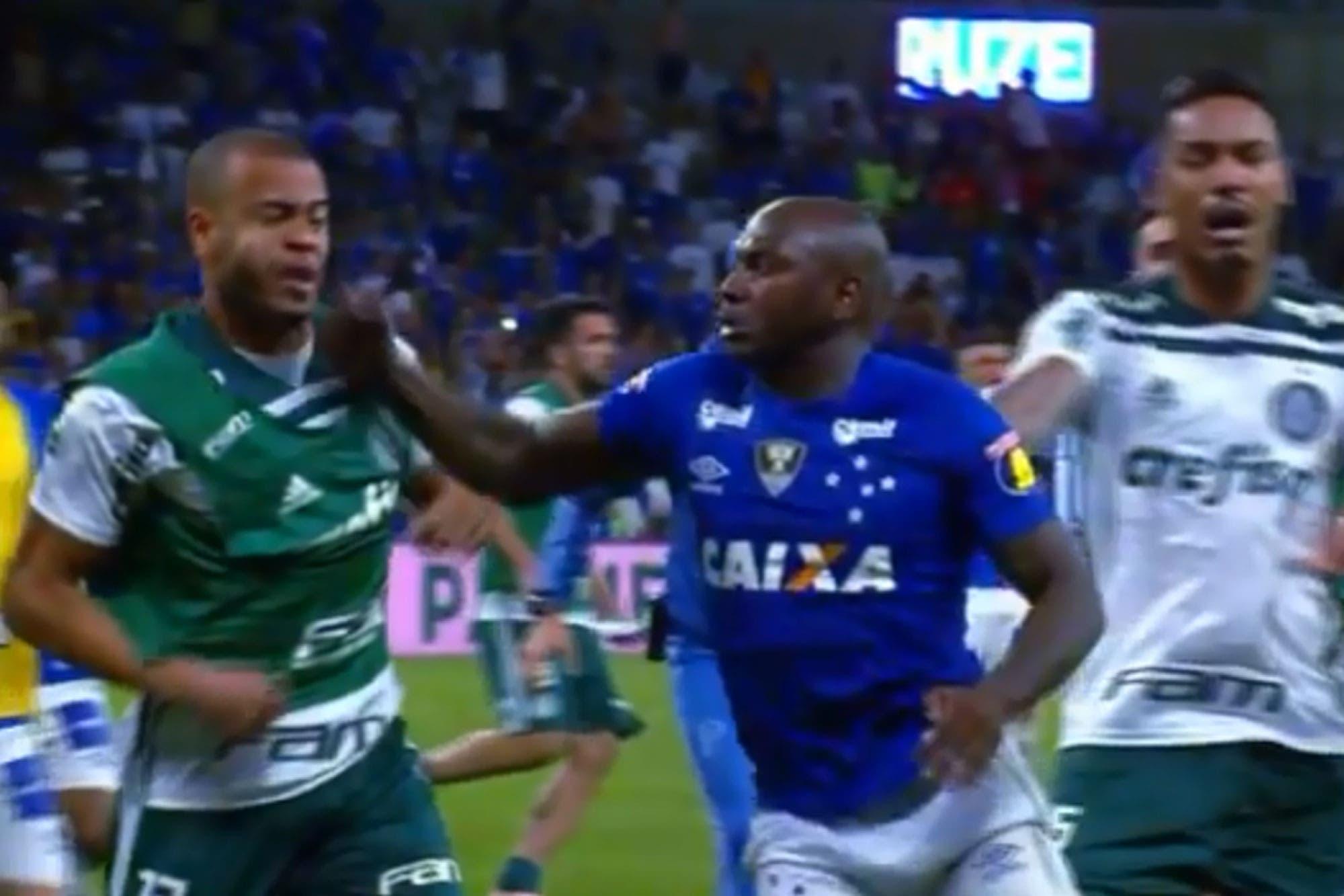 Escándalo en Brasil: Cruzeiro, rival de Boca en la Copa Libertadores, terminó a las trompadas con Palmeiras