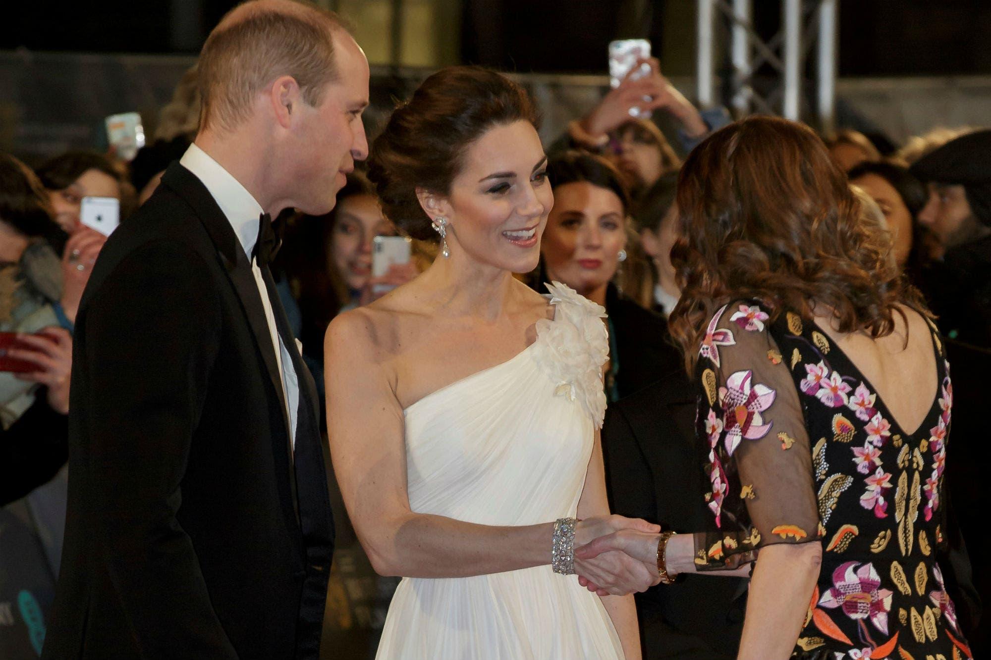 Premios BAFTA 2019: Kate Middleton y el príncipe William deslumbraron en la alfombra roja