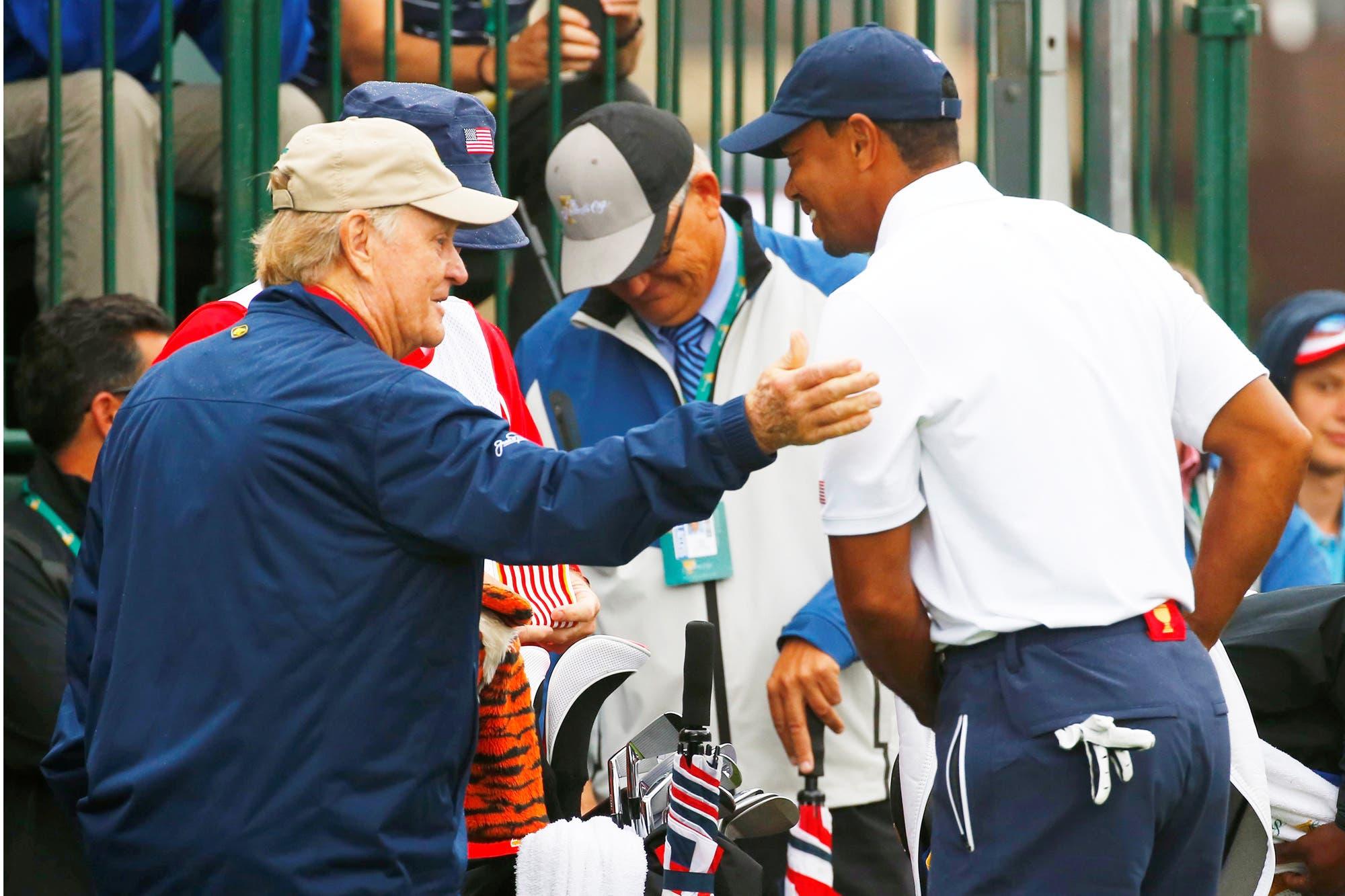 """De Jack Nicklaus sobre sus 18 majors y Tiger Woods: """"Nadie quiere que le rompan sus récords"""""""