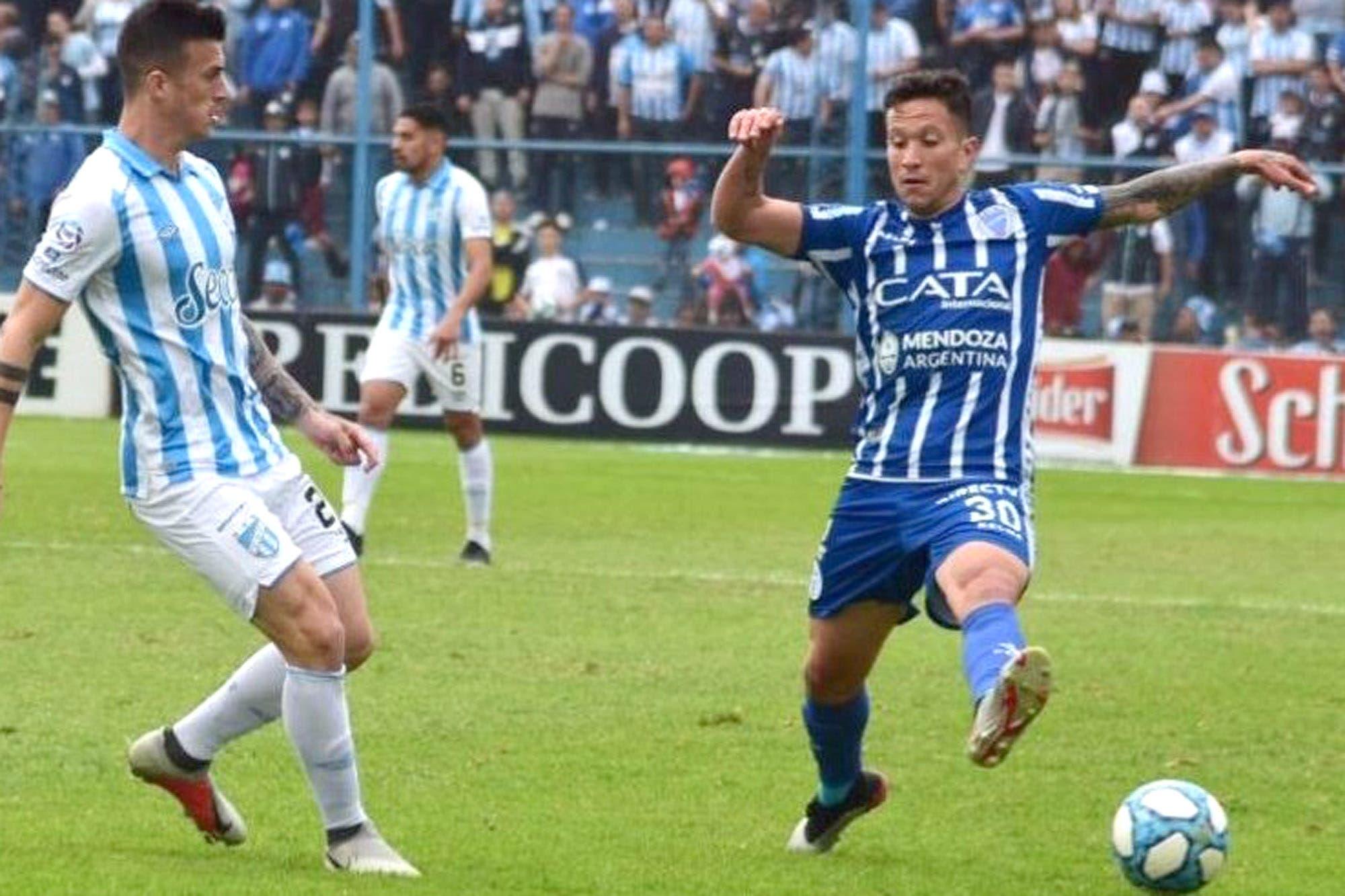 Atlético Tucumán-Godoy Cruz: un gol de Bruno Bianchi le dio los tres puntos al Decano y complicó al Tomba