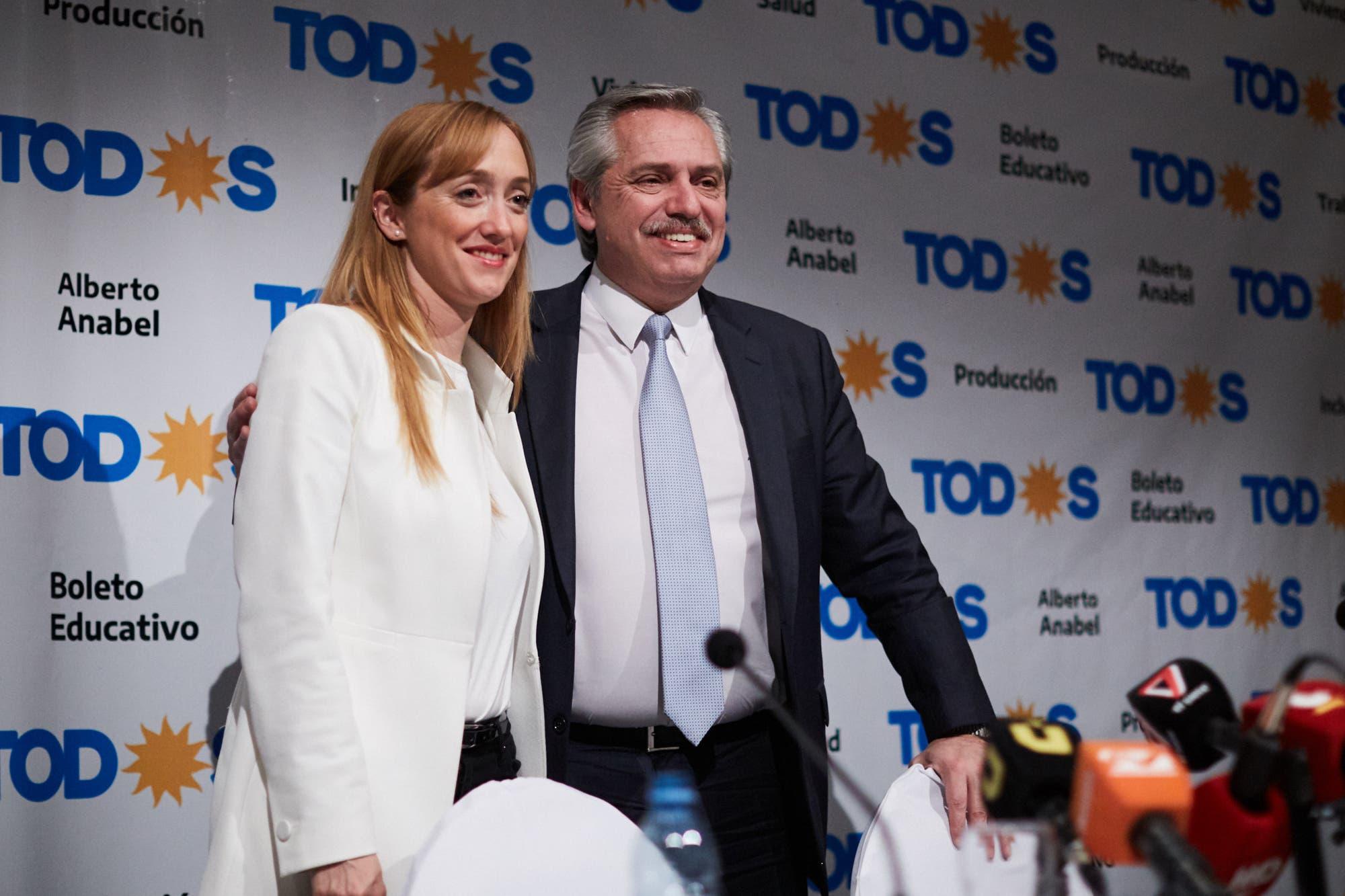 Alberto Fernández respaldó en Mendoza a la candidata kirchnerista y cargó contra Cornejo