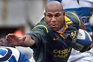 Chester Williams, campeón con Sudáfrica en 1995, falleció este viernes.