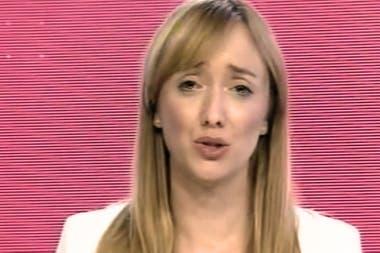 Anabel Fernández Sagasti durante el debate