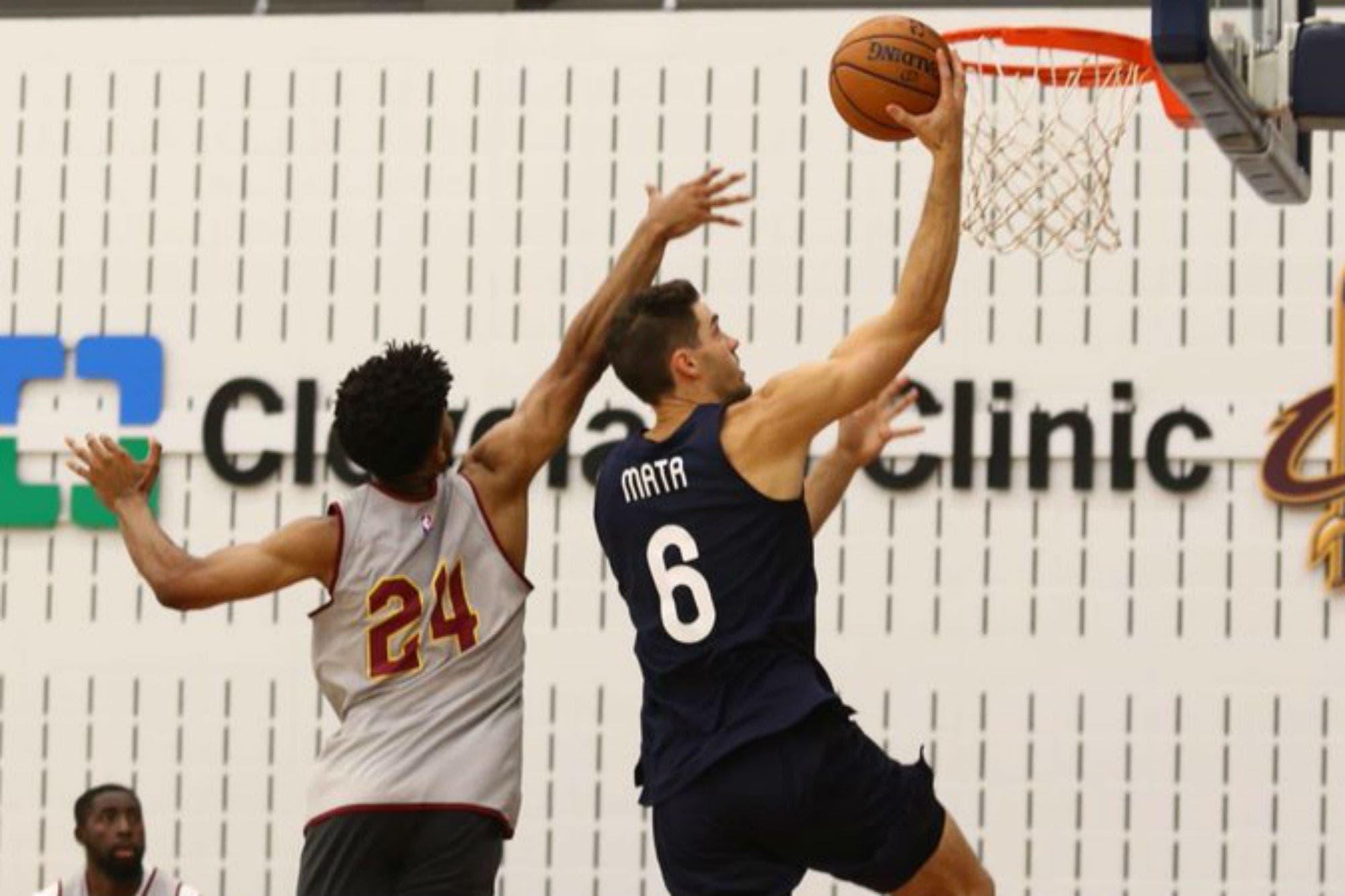 San Lorenzo en la NBA: la práctica antes del desafío con Cleveland y el fanático que no podía dejar de llorar