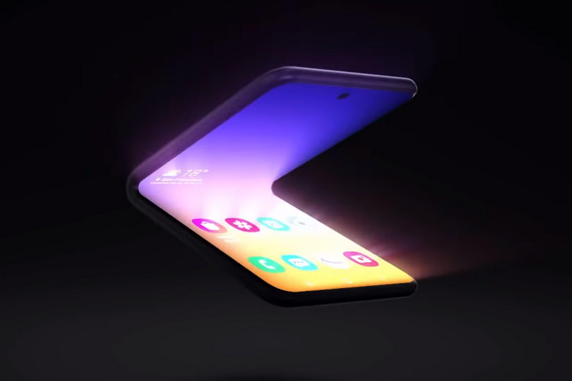 Después del Galaxy Fold, así será el próximo celular con pantalla plegable de Samsung