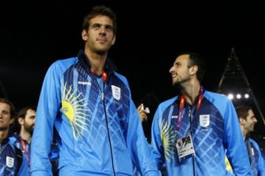 Olímpicos: Delpo y Ginóbili, en la inauguración de los Juegos de Río 2016