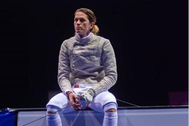 María Belén Pérez Maurice tiene 34 años y es la máxima figura nacional de la esgrima; lleva en el seleccionado una mitad de su vida.