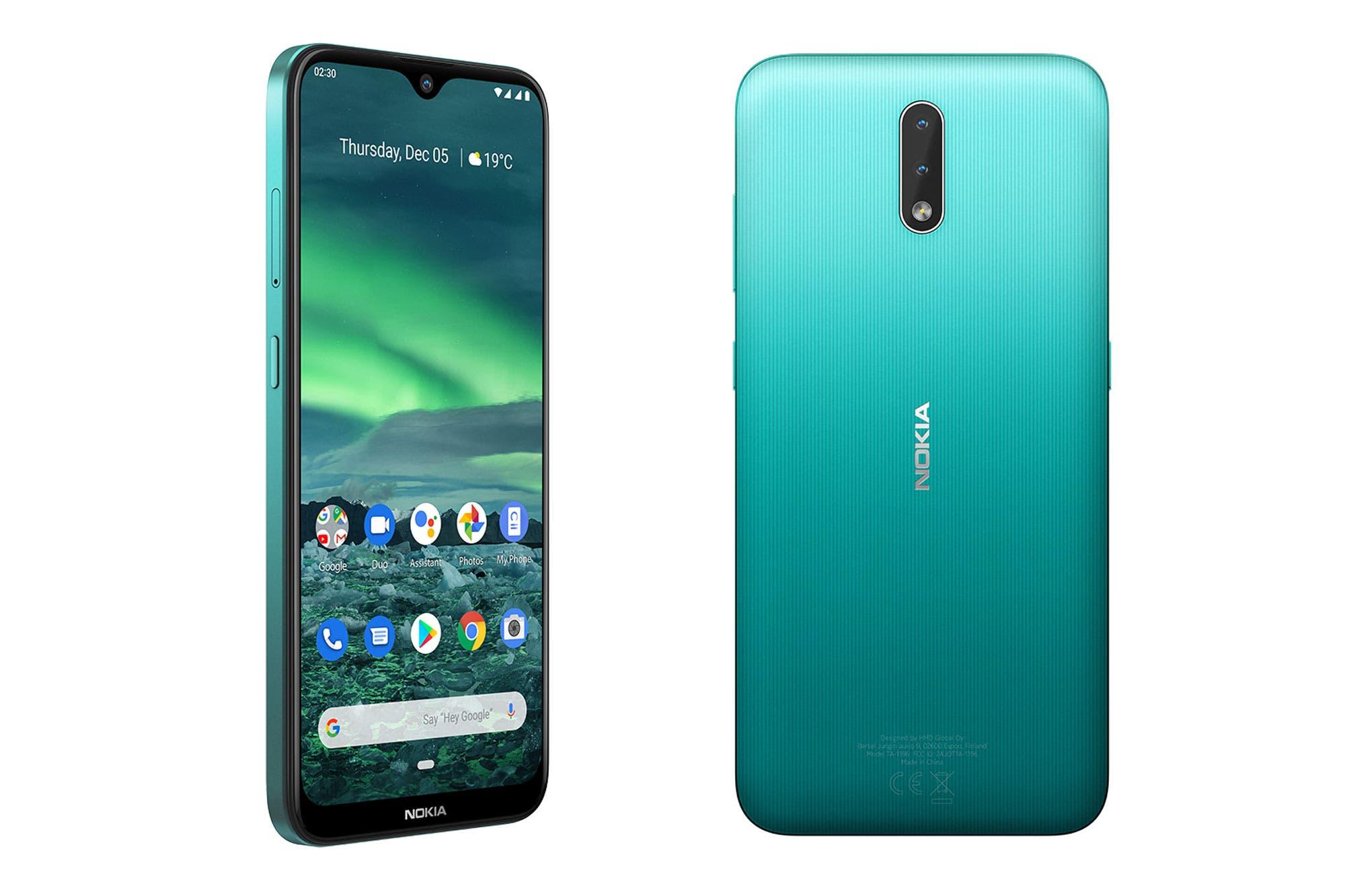 Nokia 2.3 y 1.3: HMD anuncia su nueva línea de teléfonos con Android 10