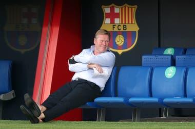 Ronald Koeman sedujo al vestuario de Barcelona