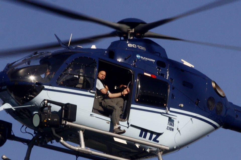 En helicóptero, armado y en el departamento de Nisman: otras apariciones polémicas de Sergio Berni
