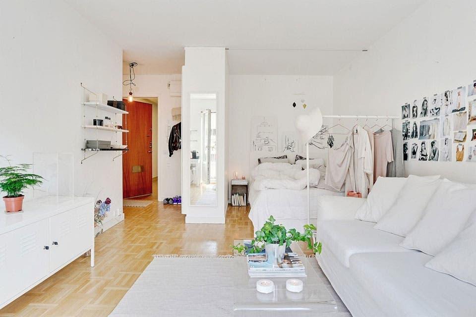 6 ideas para decorar un monoambiente la nacion - Ideas para decorar un loft ...