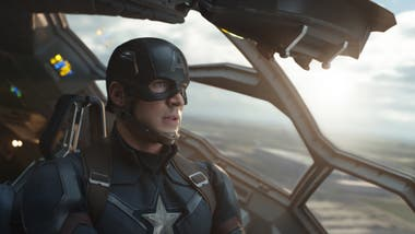 Chris Evans en Capitán América: Civil War