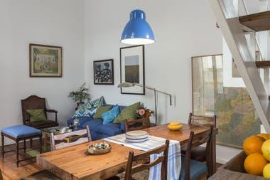 Solución 390: ideas para decorar un living-comedor con detalles de ...