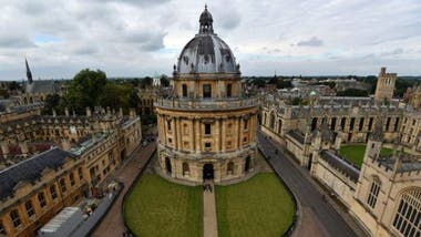 La Universidad de Oxford es la primera de la lista, según la edición 2017 del Times Higher Education (THE)