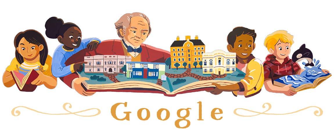 El doodle de hoy recuerda al empresario y filántropo norteamericano