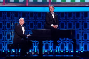 Steve Martin y Martin Short en su show An Evening You Will Forget For the Rest of Your Life