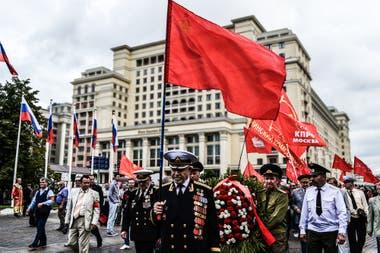 Desfile en la Plaza Roja