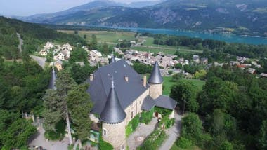 Joachim Martin fue el encargado de renovar los pisos de este castillo medieval entre 1880 y 1881