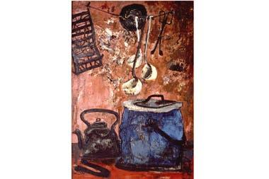 La olla Azul, Antonio Berni, 1959