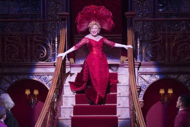 Bette Midler, en la reposición de Hello, Dolly! de Broadway