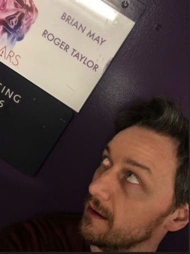 James McAvoy, entusiasmado por ver a Queen