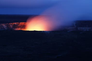 So far, it has not been known that volcanoes can also occur in the transition area of ​​the mantle