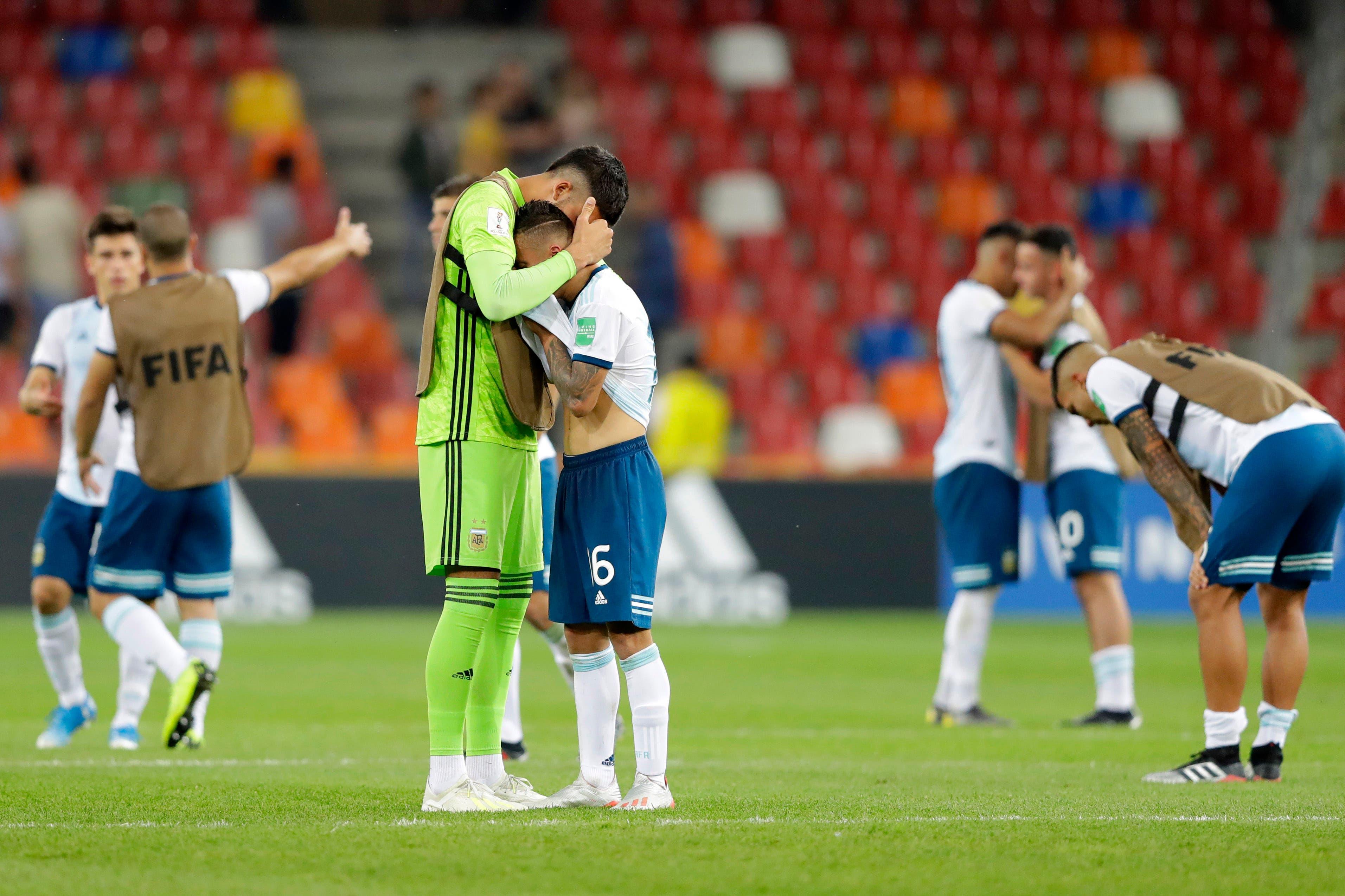 Increíble: a la Argentina le empataron en el último minuto, perdió por penales y quedó eliminada del Mundial Sub 20