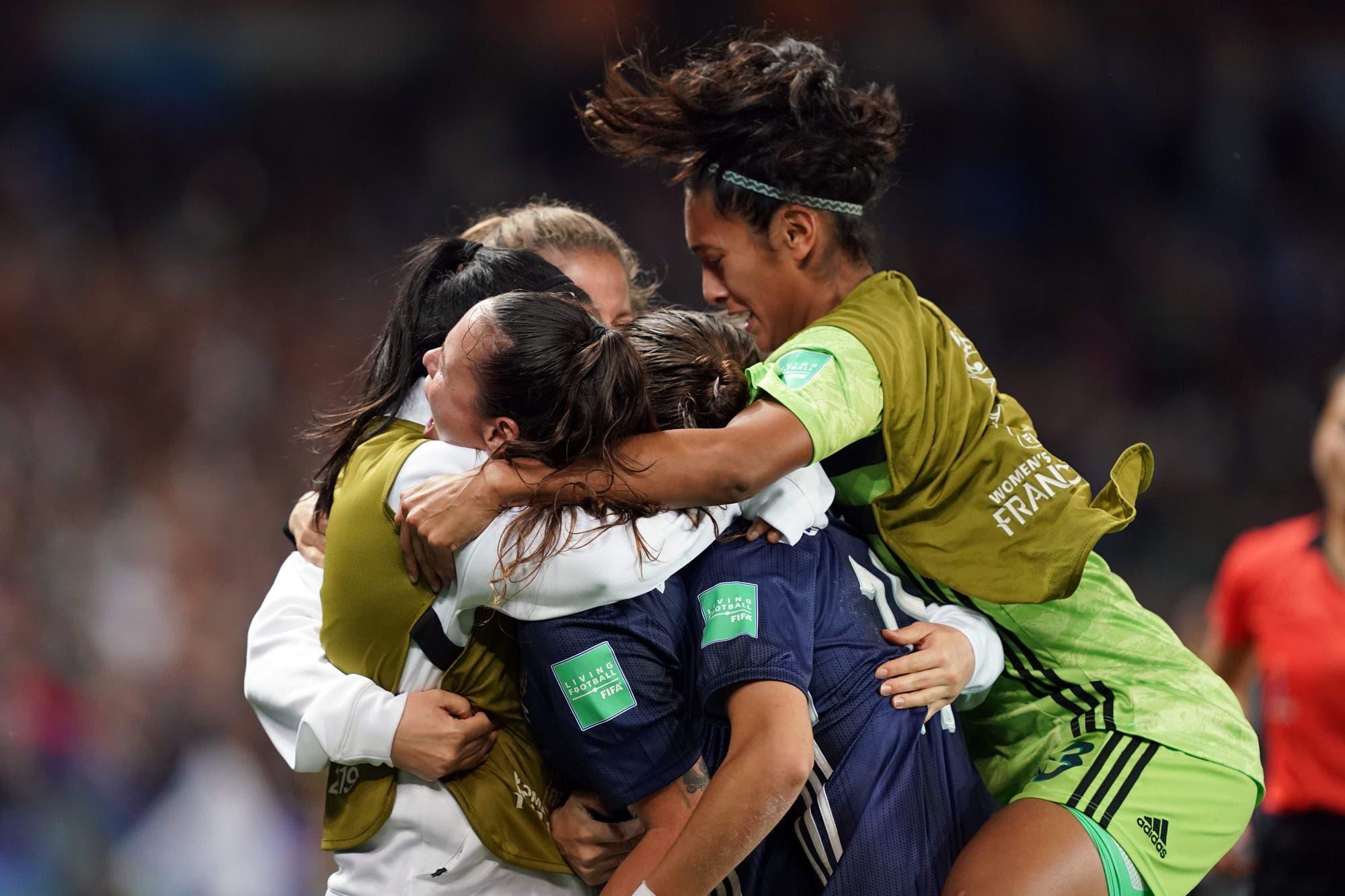 Mundial Francia 2019: la Argentina alcanzó un empate heroico y cree en el milagro