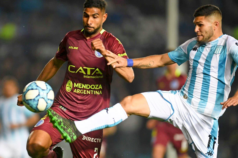 Racing-Godoy Cruz, Superliga: a la Academia le duró poco la alegría