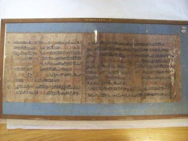 Papiro del Antiguo Egipto